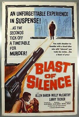 Blast Of Silence - Allen Baron - Original American One Sheet Movie Poster