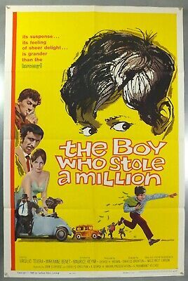 The Boy Who Stole A Million - Original American One Sheet Movie Poster