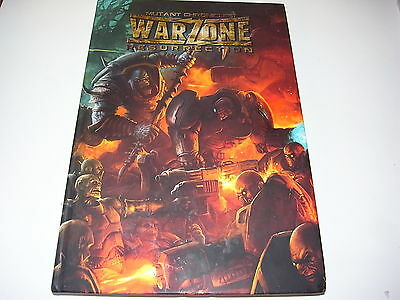 Prodos Games Mutant Chronicles Warzone Resurrection Rulebook