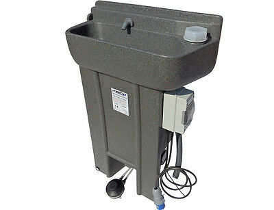 JOBEC Self Contained Hotwater Handwash Sink (Complete)