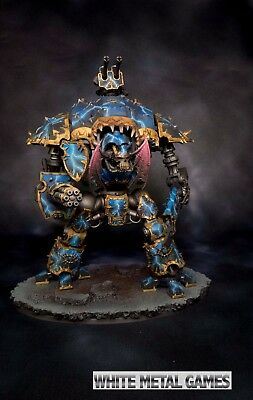 Warhammer 40k Imperial Knight Night Lords Fully Magnetized Painted Commission