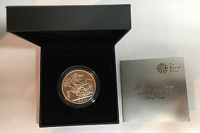 2013 The Royal Birth £5 Silver Proof Coin, Box and Cert (B5)