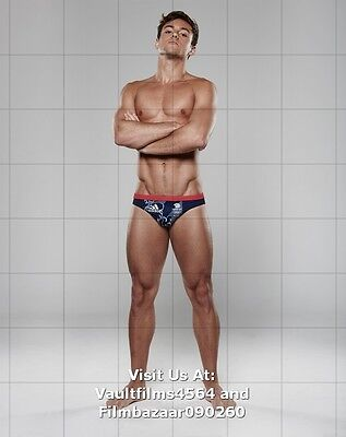 TOM DALEY - OLYMPIC DIVER - GAY INTEREST - Selection Of Modelling Photograph(s)