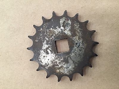 """14 and 18 Tooth Cushman Output Sprockets 9/16"""" Square Hole Lot of 4"""