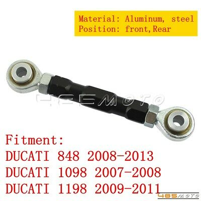 Motorcycle Threaded Ride Height Lowering Link Kit Links For DUCATI 848 1098 1198