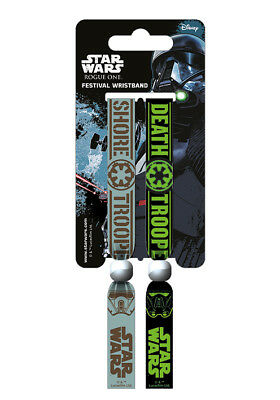 Star Wars Rogue One Empire Death Trooper Festival Wristband Bracelet Official