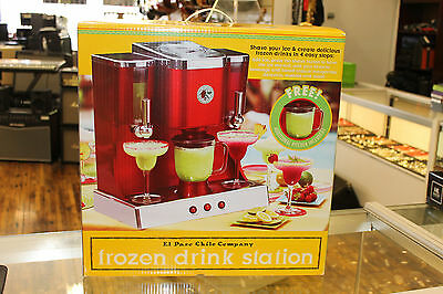 El Paso Margarita Maker Frozen-Drink Station w/ Ice Crusher, Blender, Dispensers