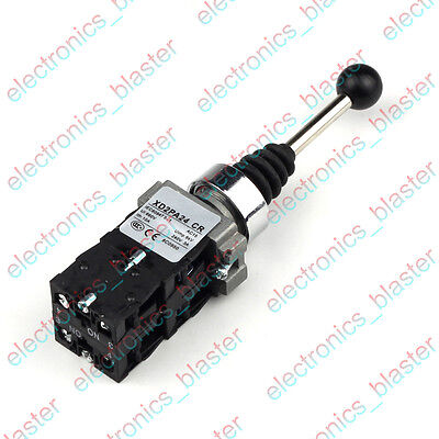 4 Direction Cross Joystick Switch 10A Normally Open NO Self Reset XD2-PA24CR