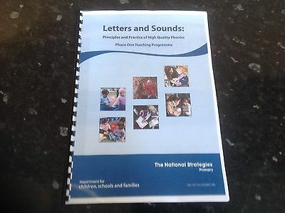 Letters and sounds phase one printed booklet ks1 EYSF SEN