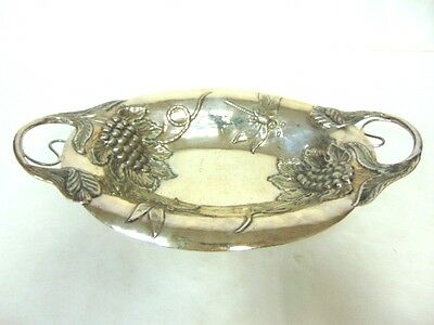 VINTAGE ANTIQUE STERLING SILVER SERVING DISH BOWL 850g