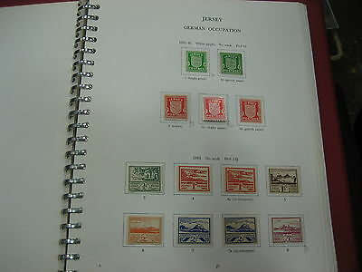 Jersey Stamp Collection Commem Miniature Sheets 1941-2014   Mnh Fv £499 Albums