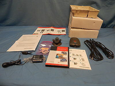 2 Sets Polycom 2201-20500-003 Via Video II Video Conferencing System TESTED