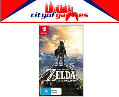 The Legend Of Zelda Breath Of The Wild Switch Brand New Free Shipping