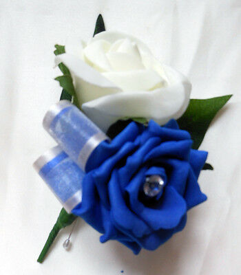 Asole Avorio & Blu Royal Rosa Bouquet, Matrimoni