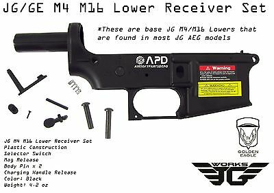 JG M4 M16 Replacement Lower Receiver Set Airsoft AEG S System M16a2 CQB