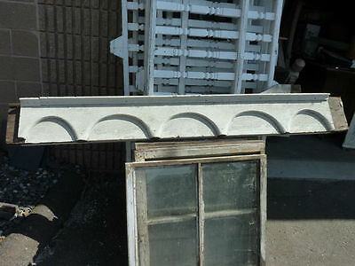 c1870-80 VICTORIAN gingerbread PORCH header pediment 82.5 x 9.75 x 4 3/8""