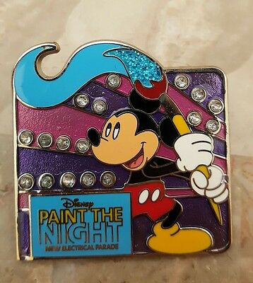 Disney Pin Paint The Night New Electrical Parade Mickey Pin