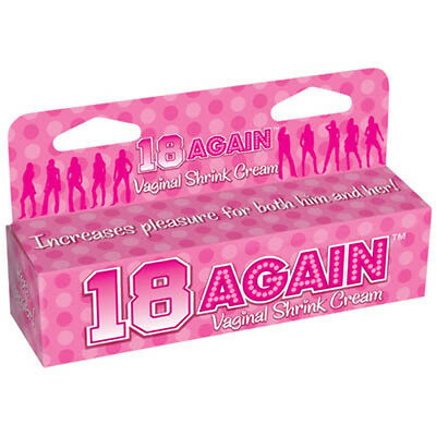 New 18 AGAIN! Vaginal Tightening Cream 44ml Women's Stimulant