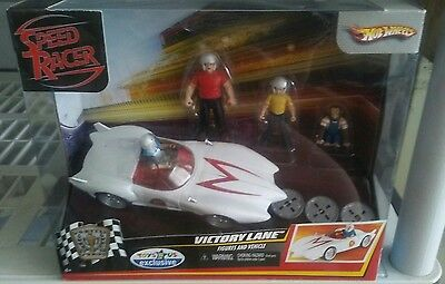 Hot Wheels Speed Racer Victory Lane Playset w/ figures and vehicle