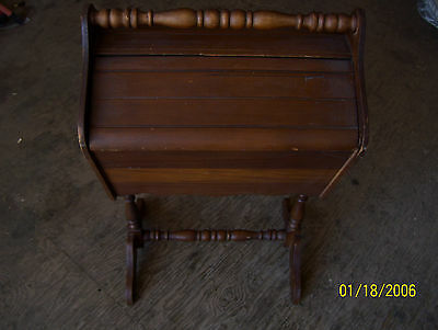 Early 1900's Antique Mahogany Sewing Cabinet numbered 367