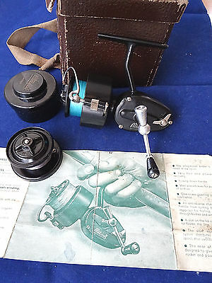 A Superb 3Rd Model Mitchell (300 Size) Spinning Reel + Booklet, Spare Spool +Tub