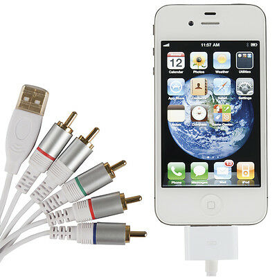 NEW AV Component lead to suit iPod®/iTouch®/iPhone®/iPad® WC7699