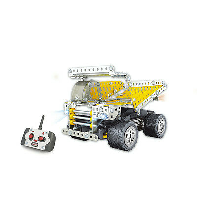 NEW Remote Control Dump Truck Construction Kit KJ8998 Assembly Required