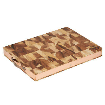 NEW Stephanie Alexander-Acacia End Grain Wood Chopping Board Lrg