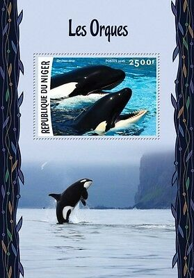 Z08 IMPERFORATED NIG16217b NIGER 2016 Orcas MNH