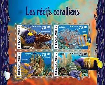 Z08 Imperforated NIG16205a NIGER 2016 Corals MNH