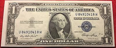 *1935 $1 Dollar Silver Certificate Note AU Old US Currency Excellent Condition!*