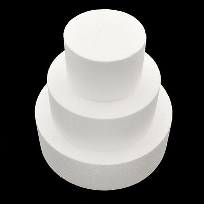 Foam Cake Dummy Mould Cake Tool Accessories Bakeware Stands Wedding Supplies