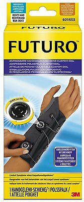Futuro Wrist Splint Adjustable Custom Dial for right hand A+category  £49.99 RRP