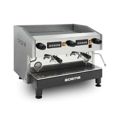 Boema Deluxe Commercial  Tanked / Plumped  Coffee Machine