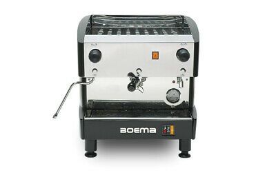 Boema Deluxe 1 Group Semi Auto (Tank) Coffee Machine  Features      Stylish and