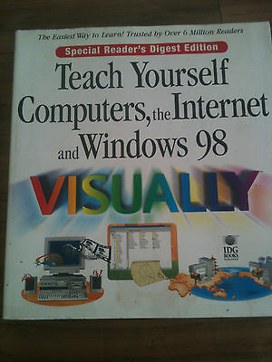 readers digest teach yourself computers and internet & windows 98visually