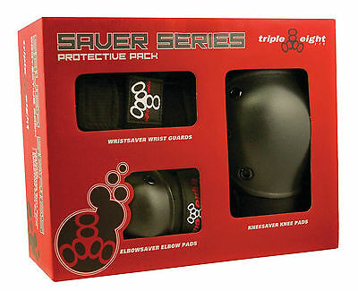 888 Saver Series Protective 3-Pack - Knee + Elbow + Wrist