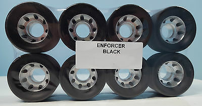 Enforcer Roller Skate Wheels - Derby/Rec - Set of 8 Wheels