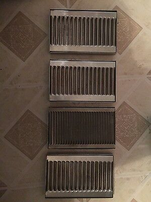 "8"" X 5"" Stainless Steel Draft Beer Drip Tray , Kegerator, Countertop, Coffee"