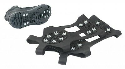 Snow and Ice Shoe Grips Black - Medium and Large sizes - Yellowstone