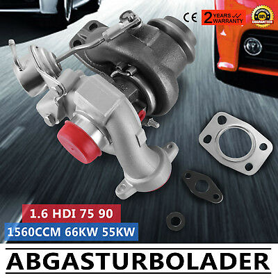 Turbocharger TD025 49173-07508 49173-07507 turbo Citroen Berlingo 1.6 HDI 0375N5