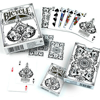 Bicycle Archangels Playing Cards Single Deck Gothic Mythical Design Poker New