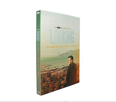 Looking: The Complete Series + Movie (DVD, 2016, 5-Disc Set)