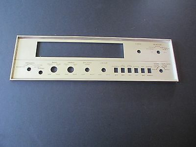 Pioneer SX-1000TD Face plate Front panel Part GOOD CONDITION