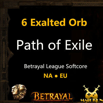 Path of Exile / PoE 3.1 Currency & Item 3 x Exalted Orb Abyss League Softcore SC