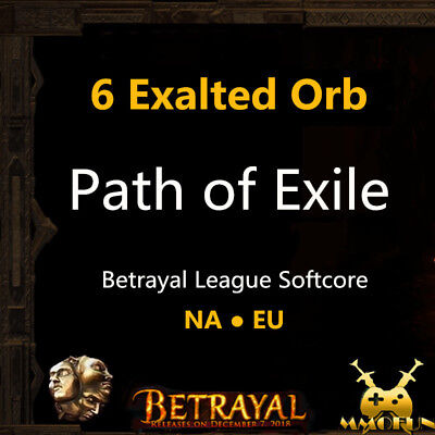 Path of Exile | PoE | 50 x Exalted Orb / item - Harbinger League Softcore SC