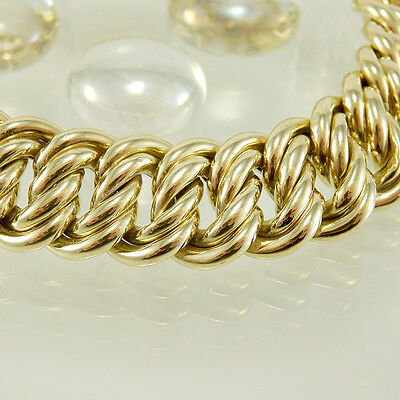 2.Armband in 585/- 14k Gelbgold