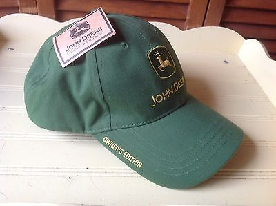 John Deere Official Owner's Edition Baseball Cap Hat New With Tag