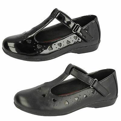 Wholesale Girls School Shoes 18 Pairs Sizes 10-2  H2336