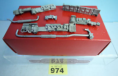 O Gauge Dmu White Metal Underframe Detailing Parts New #974
